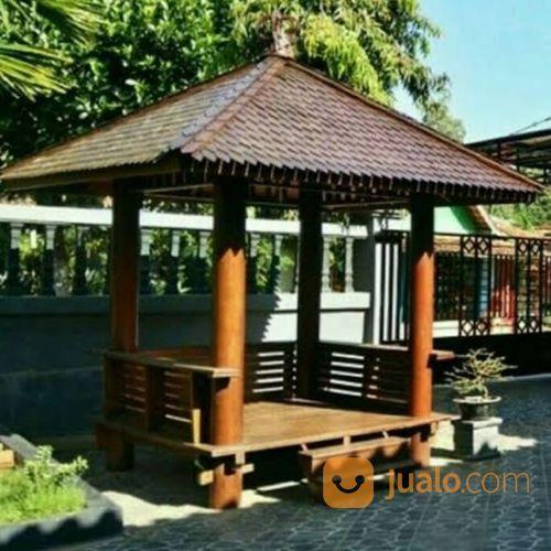 Gazebo Jepara Saung Kayu Klapa Rumah Santai Kursi (20277979) di Kab. Semarang
