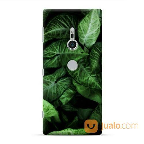 Botanical Leaves Sony Xperia XZ2 Custom Hard Case (20281951) di Kota Bekasi