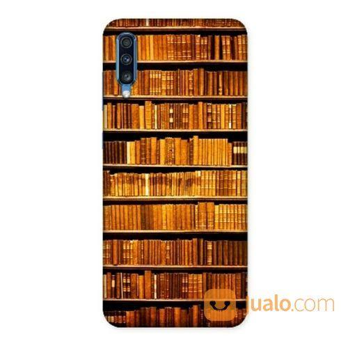 The Library Samsung Galaxy A70 Custom Hard Case (20305171) di Kota Bekasi
