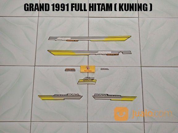 Striping Grand 1991 Full Hitam ( Kuning ) (20310127) di Kota Jambi