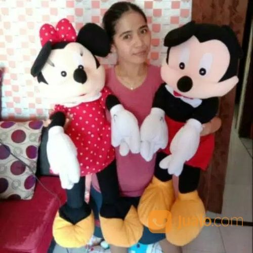 Boneka Minimouse & Mickey Mouse Jumbo (20326183) di Kab. Bandung Barat