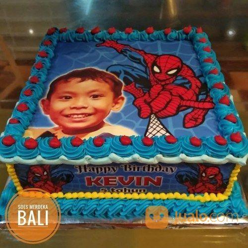 Kue Ultah Kartun Animasi Anak Birthday Cake Bali Denpasar Jualo