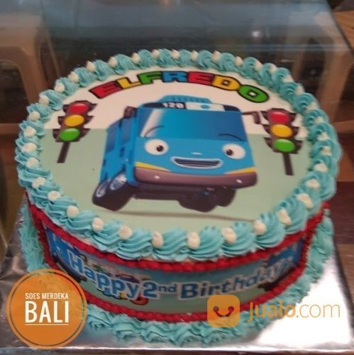 Cake Anak Tayo Birthday Kue Ulang Tahun Animasi Kartun Denpasar Bali Denpasar Jualo