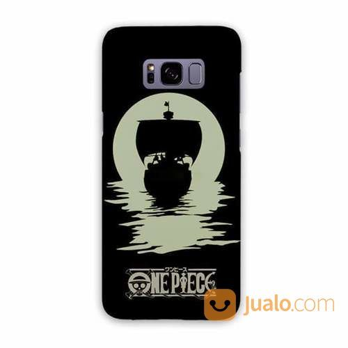 One Piece Black White Samsung Galaxy S8 Plus Custom Hard Case (20357139) di Kota Bekasi