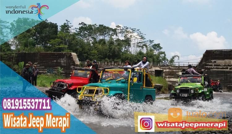 JEEP LAVA TOUR MERAPI - Wisata Jeep Merapi Jogja (20400787) di Kota Yogyakarta