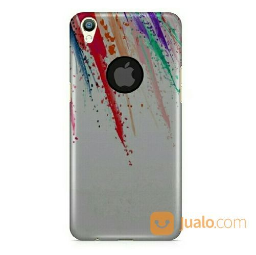 Feather Splash Apple Logo Oppo F1 Plus Custom Hard Case (20419747) di Kota Bekasi