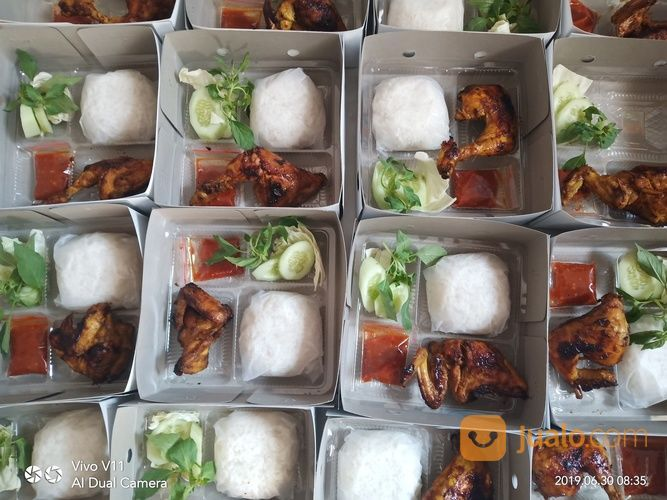 Paket Nasi Kotak Ayam Bakar Nasi Box Bento Siap Antat (20422527) di