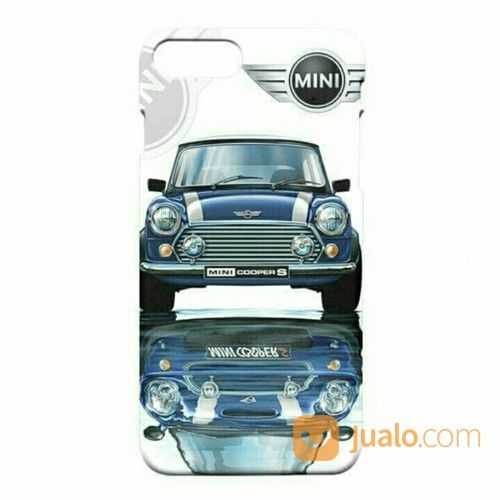 Mini Cooper Old Blue IPhone 7 Plus - 7s Plus Custom Hard Case (20424499) di Kota Bekasi