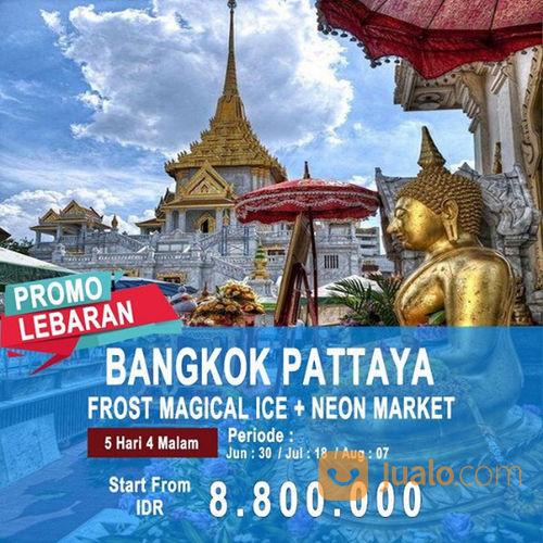 5 Hari Bangkok Pattaya Frost Magical Ice Plus Neon Market (20453579) di Kota Jakarta Pusat