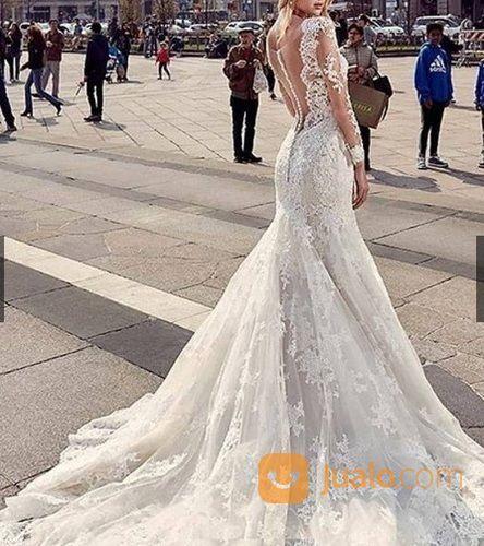 Gaun Pengantin Bridal Premium Gaun Prewedding Import Wedding Dress Pernikahan Baju Pengantin Tangerang Jualo