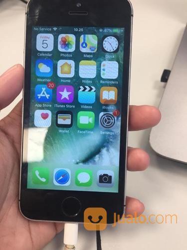 Iphone 5s grey 16 gb handphone apple 20490239
