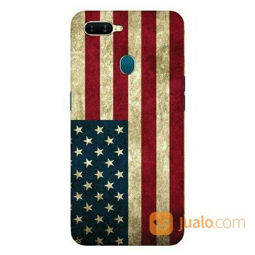American Flag Oppo A7 Custom Hard Case (20517115) di Kota Bekasi
