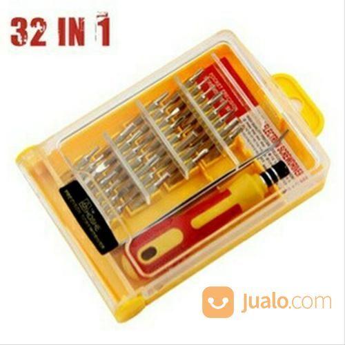 Obeng set 32 in 1 pin perlengkapan rumah tangga lainnya 20518423