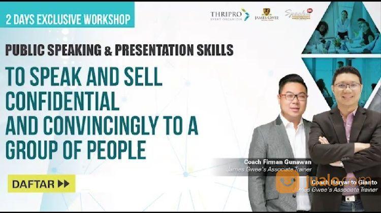 Workshop Public Speaking & Presentation Skills (20533443) di Kota Tangerang Selatan