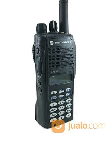 Ht Motorola Gp 338 Uhf Murah Ready Tapi Stok Terbatas (20546799) di Kota Jakarta Barat