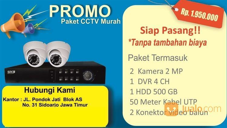 Paket cctv murah 2 ka spy cam dan cctv 20574275