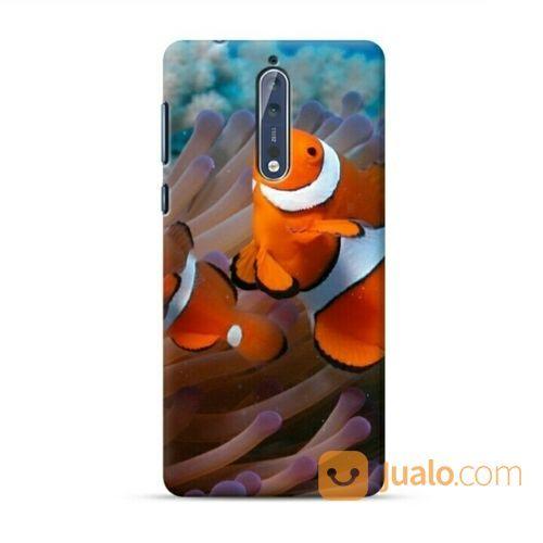 Clownfish And Sea Anemone Nokia 8 Custom Hard Case (20592515) di Kota Bekasi
