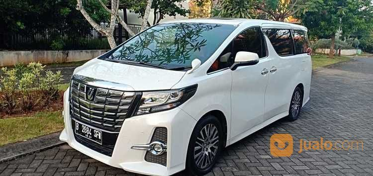 Toyota Alphard SC CBU Tahun 2015 Akhir Sangat Istimewa (20630231) di Kota Semarang
