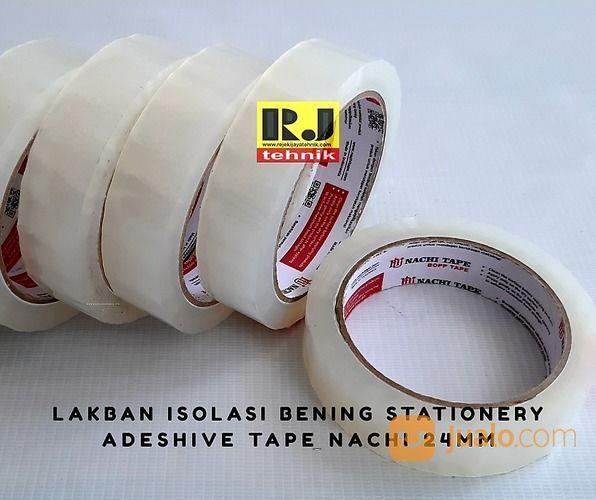 Lakban Isolasi Bening Stationery Adeshive Tape Nachi 24mm (20630923) di Kota Surabaya