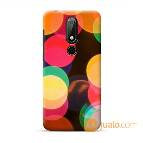 The First Bokeh Of Christmas Nokia 3.1 Plus Custom Hard Case (20636791) di Kota Bekasi