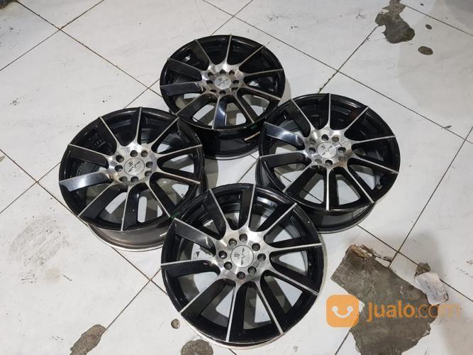 Velg jf luxury black velg mobil 20645851