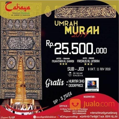 Paket Umrah Murah 2019 Keberangkatan Tanggal 9 Oktober Dan 11 November 2019 Maskapai Saudi Airlines (20655179) di Kota Surabaya
