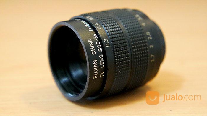 Lensa Fujian 35mm F1.8 Untuk Kamera Mirrorless MFT / M43 (20676539) di Kota Jakarta Selatan