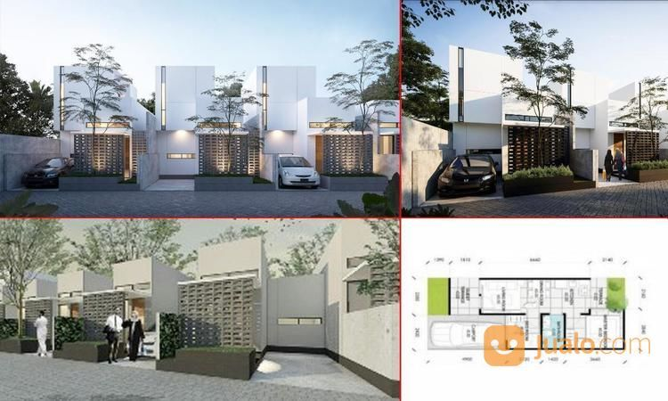 Rumah Adreena Village, Bogor, 6x6m, 1 Lt, SHM (20709211) di Kota Bogor