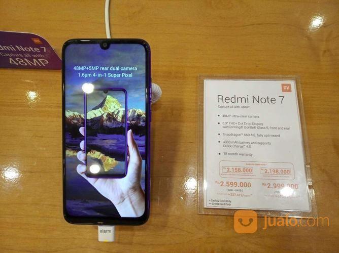 Hp Xiaomi Redmi Note 7 Bisa Dicicil Dengan Angsuran Terjangkau (20709695) di Kota Bekasi
