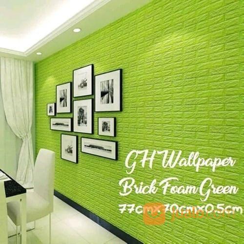 warna hijau wallpaper kebutuhan rumah tangga interior dan dinding 20741479