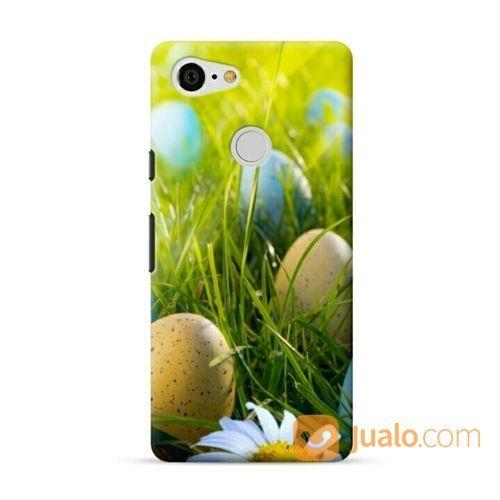 Easter Egg Hunt Google Pixel 3 Custom Hard Case (20741499) di Kota Bekasi
