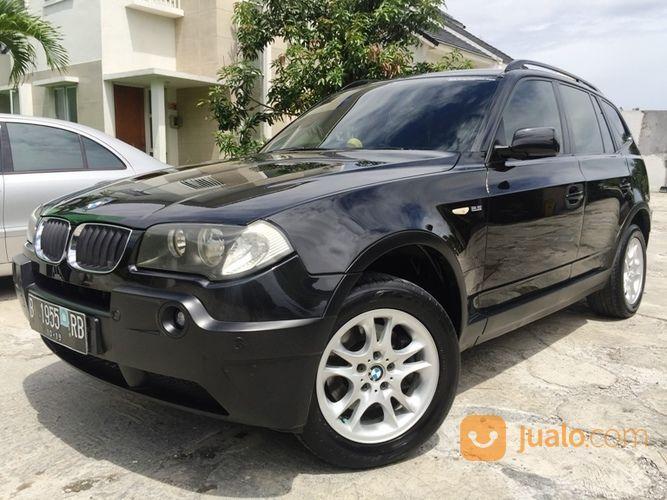 BMW X3 4x4 AT E83 M54 2500cc Thn 2004 Pajak Hidup 100% Full Orisinil (20772571) di Kota Jakarta Selatan