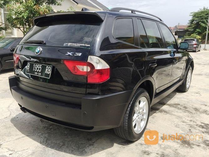 BMW X3 4x4 AT E83 M54 2500cc Thn 2004 Pajak Hidup 100% Full Orisinil (20772575) di Kota Jakarta Selatan