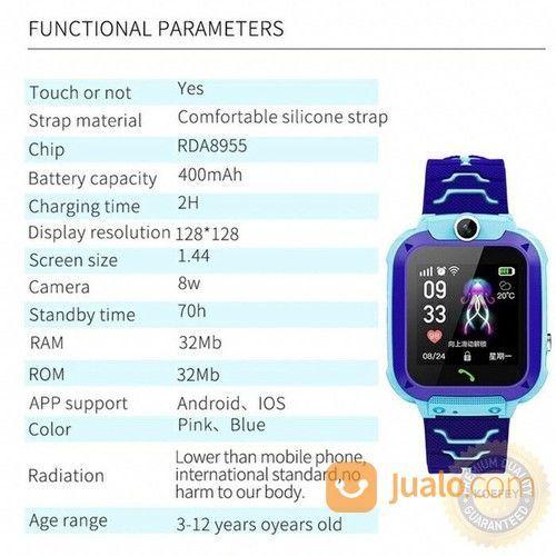 Smartwatch Kids Q12 Bukan Imo / m / im / ppl / pl / amsun / iaomi Bisa Telpon Kamera Game (20784863) di Kota Semarang