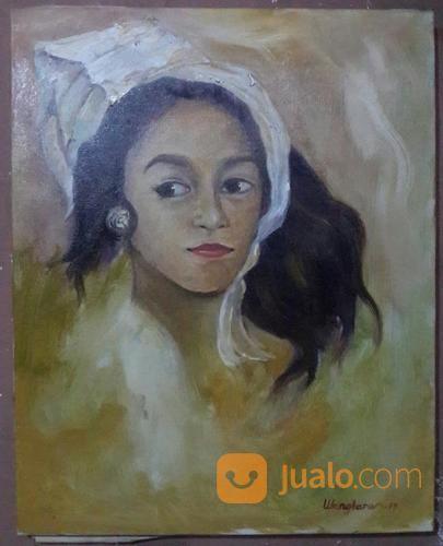 Lukisan gadis desa ka hobi seni 20877547