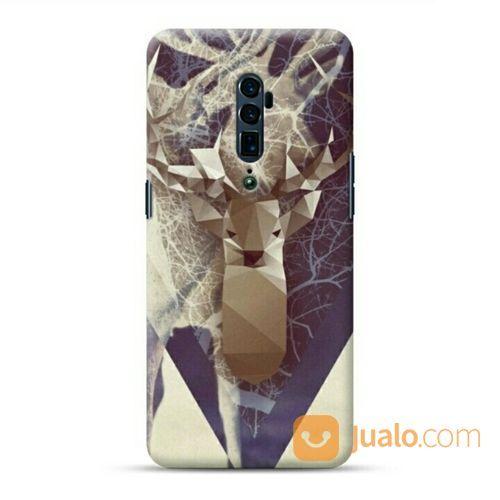 Magic Deer Oppo Reno 10x Zoom Custom Hard Case (20898059) di Kota Bekasi