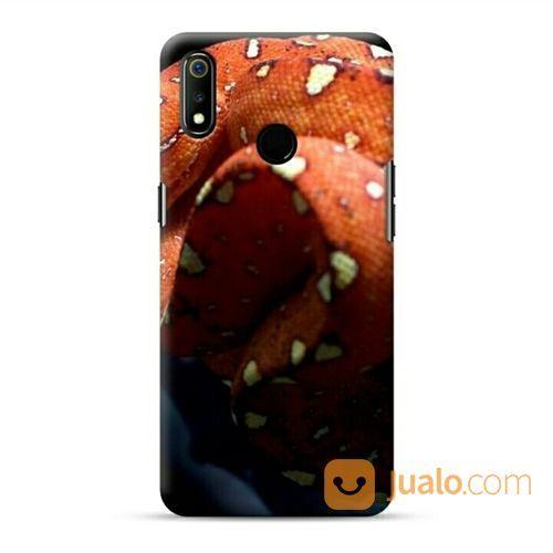 Orange Snake Oppo Realme 3 Custom Hard Case (20937731) di Kota Bekasi