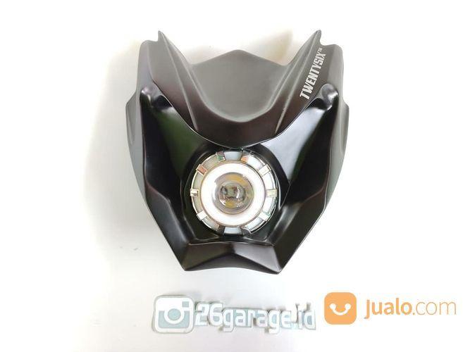 Headlamp projie led aksesoris motor aksesoris motor lainnya 20940815