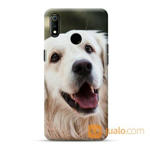 Dog Golden Retriever Oppo Realme 3 Custom Hard Case (20943483) di Kota Bekasi
