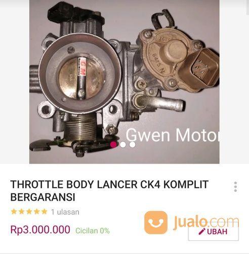 Throttle body lancer sparepart mobil lainnya 20956055