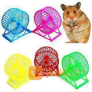 Mainan hamster kincir makanan aksesoris 20990363