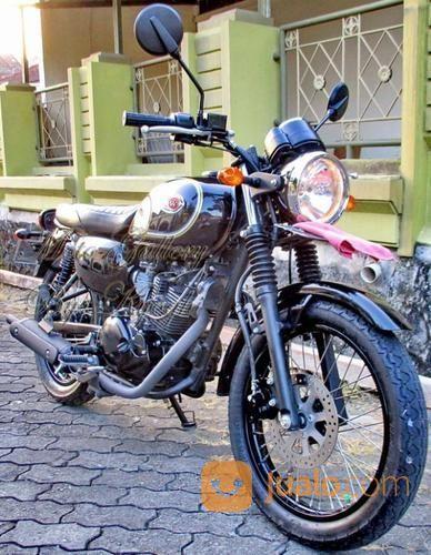KAWASAKI W175 SPECIAL EDITION (SE) HITAM SOLID 2018, PLAT AB (21022815) di Kota Yogyakarta
