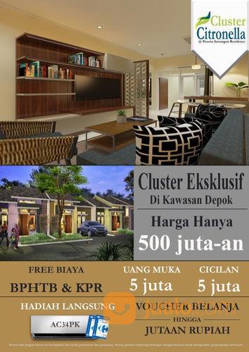 Pesona Sawangan Residence Cluster Citronella 500jt'an Tanpa DP (21025119) di Kota Depok