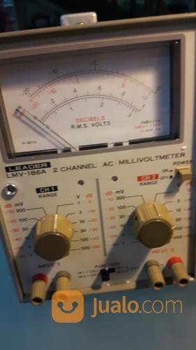 LEADER LMV 186A 2 Channel AC Millivoltmeter (Japan) (21029879) di Kota Jakarta Barat