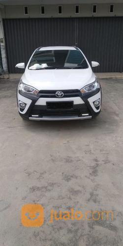 New Toyota YARIS Type S TRD Heykers Manual Putih Tahun 2017 DP 30 Jt (21035511) di Kota Palembang