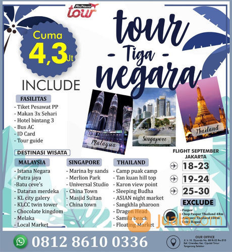 Travelling Yuk.. Paket Murah Tapi Tidak Murahan (21036867) di Kota Tangerang Selatan