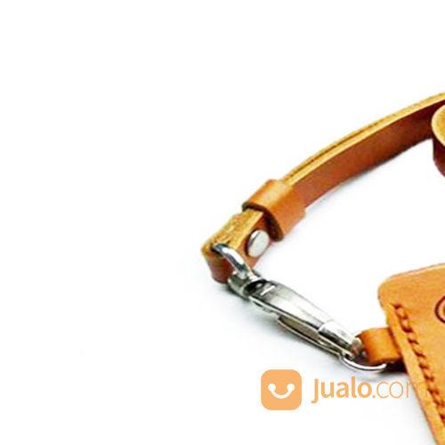 Name Tag Kulit Asli Logo PT. FREEPORT INDONESIA Garansi 1 Tahun - Tempat Id Card. Gantungan Id Card (21051799) di Kota Jayapura