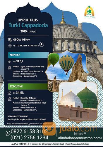 UMROH PLUS TURKI CAPPADOCIA (21090843) di Kota Tangerang