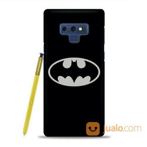 Batman Logo Silver Samsung Galaxy Note 9 Custom Hard Case (21112487) di Kota Bekasi