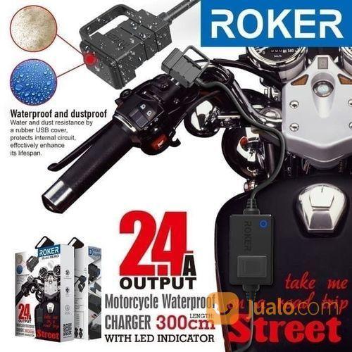 Charger casan motor r aksesoris handphone dan tablet lainnya 21114631